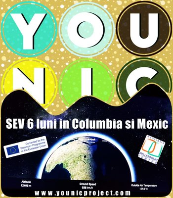 Voluntar in MEXIC - 6 luni in proiectul Younic